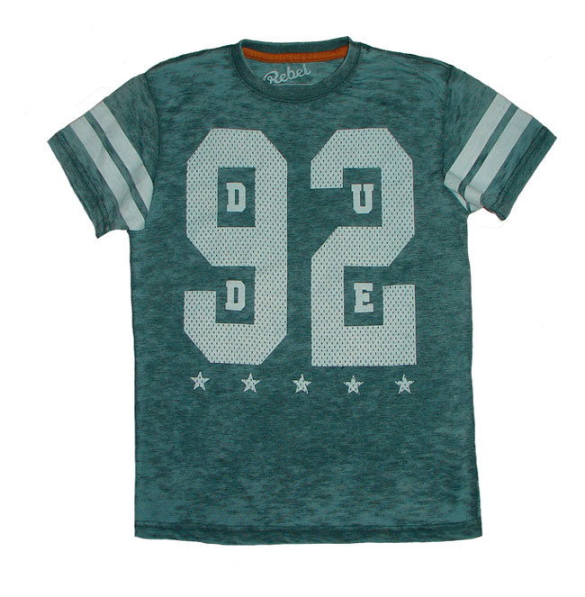Rebel boys printed washed t shirt indiastock offers for Printed t shirts india