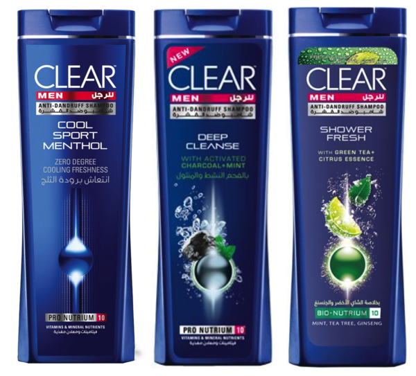 25317 - CLEAR SHAMPOO FOR MEN / C&F JEBEL ALI, UAE