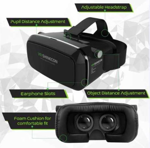 25762 - VR Shinecon Virtual Reality Headset USA