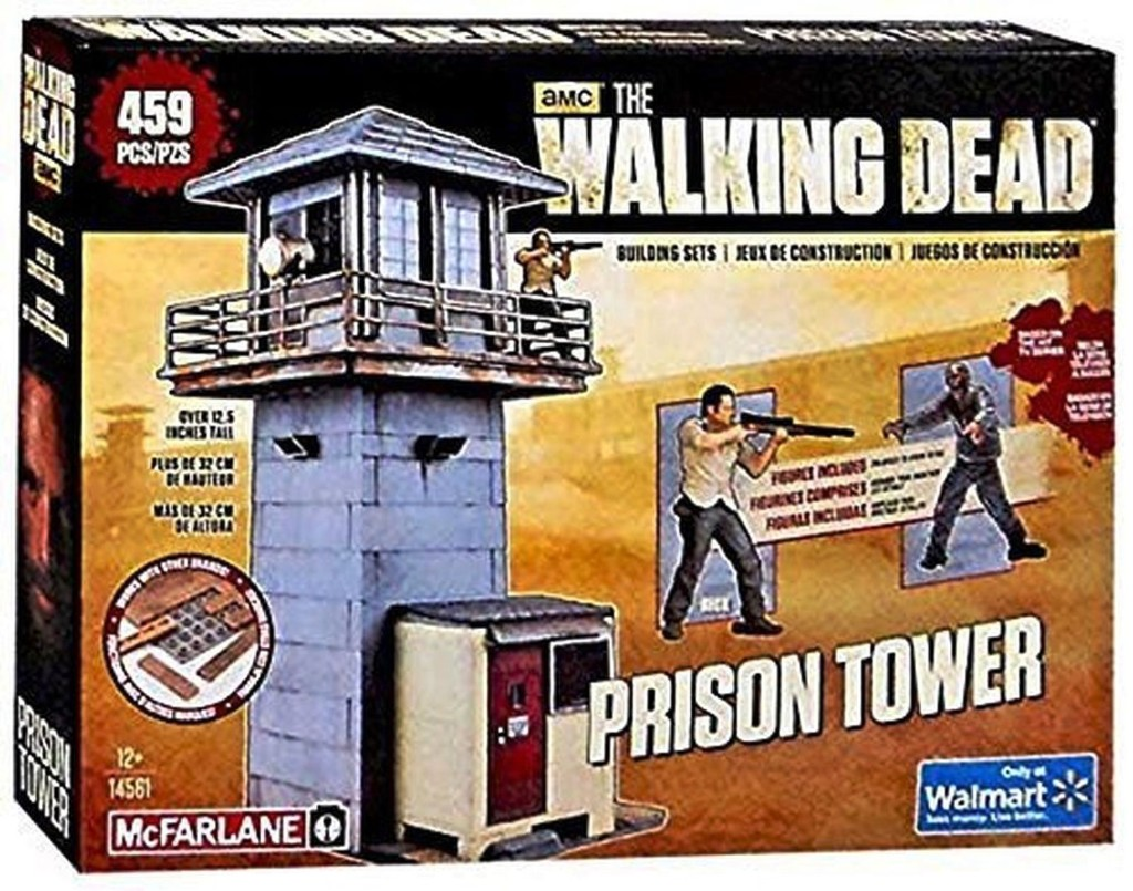 27966 - McFarlane Toys The Walking Dead Prison Tower Building USA