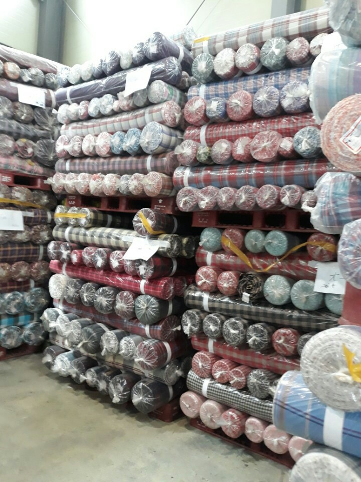 30718 - SHIRTING FABRIC STOCK IN KOREA