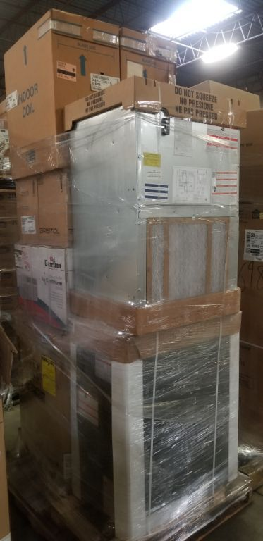 32661 - Brand New HVAC Truck Load -- Water Heaters, Central ACs, Furnaces & More USA
