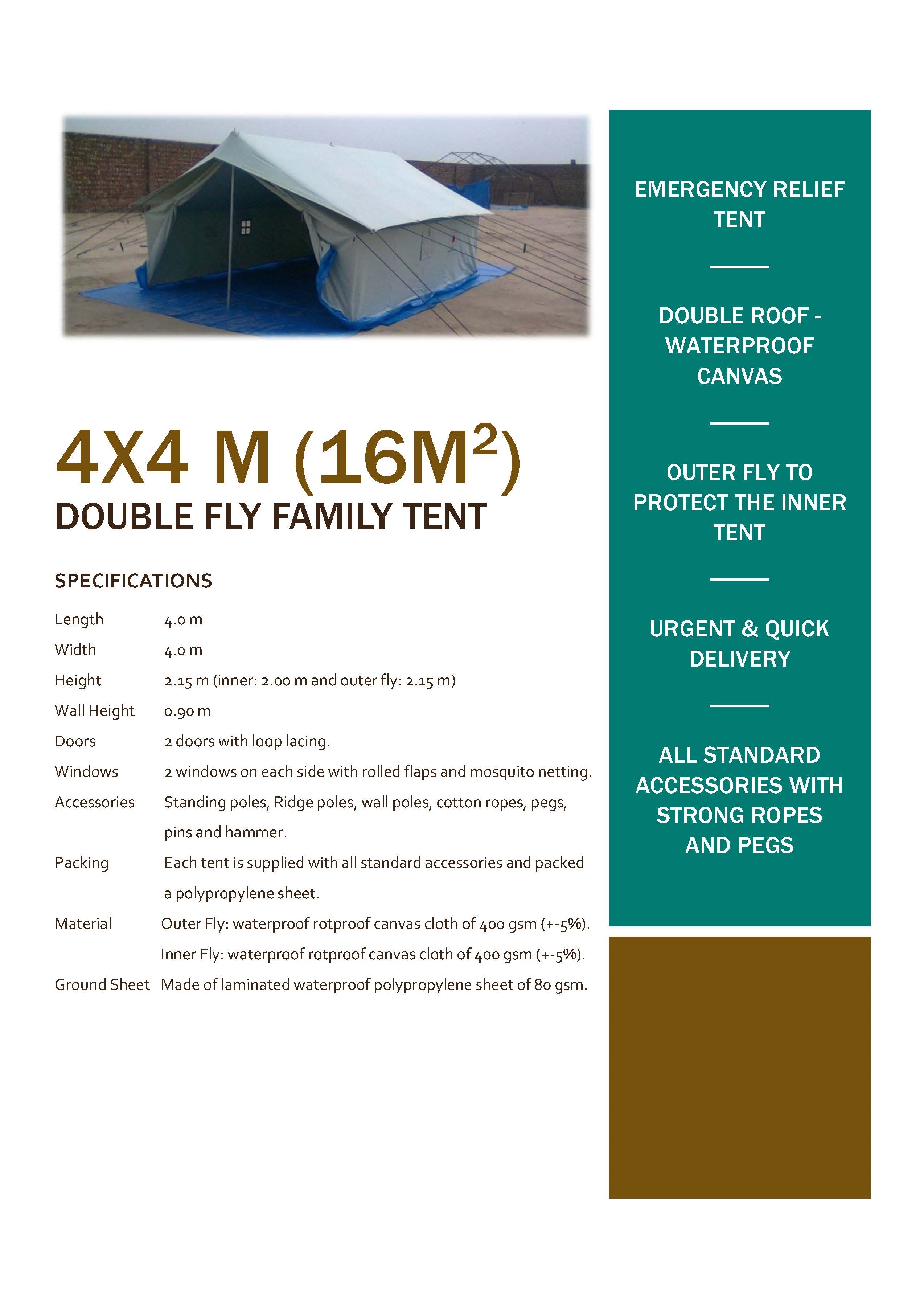 36482 - COVID19 ISOLATION TENTS Pakistan