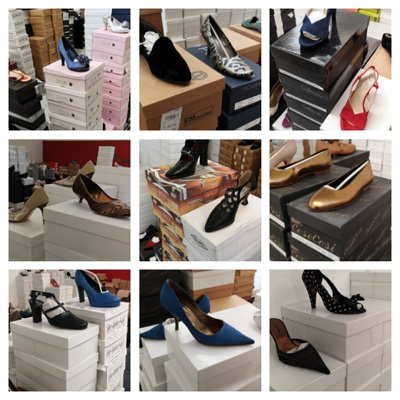 36871 - Stock of women's shoes Europe