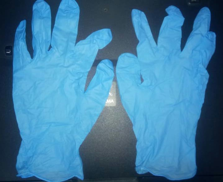 37104 - Nitrile powder-free gloves Different sizes