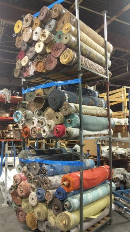 39000 - FIRST QUALITY CHENILLES & JACQUARDS 165,000 YARDS USA