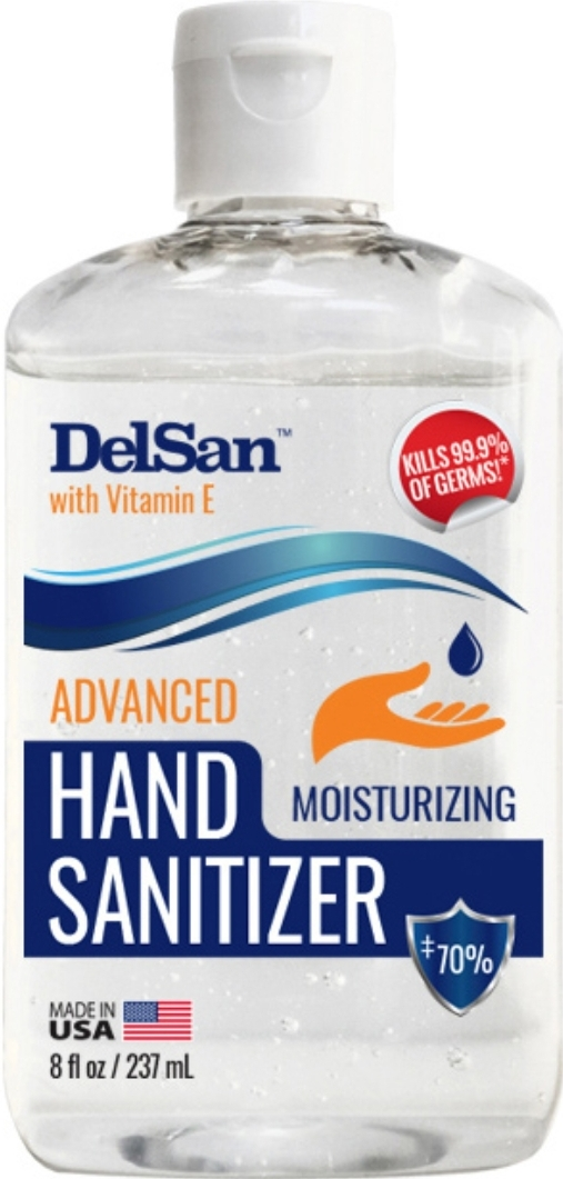39539 - Made in USA 8oz Hand Sanitizer TL/Desktop Displays/ Delivered/ USA